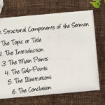 The Six Structural Components of the Sermon