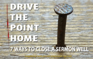 How To Write A Sermon Conclusion For Impact