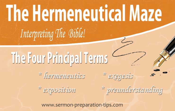 The Difference Between Hermeneutics and Exegesis